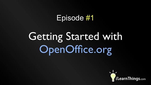 Episode 1: Getting Started with OpenOffice.org